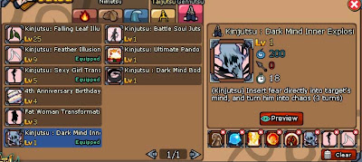 For Sale Account Ninja Saga Emblem Usher Kisame Style