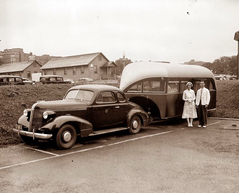 Old Picture of the Day: Travel Trailer