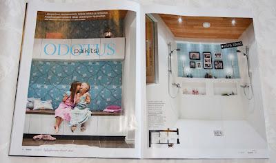 Talo&Koti-lehdessä 2/2012