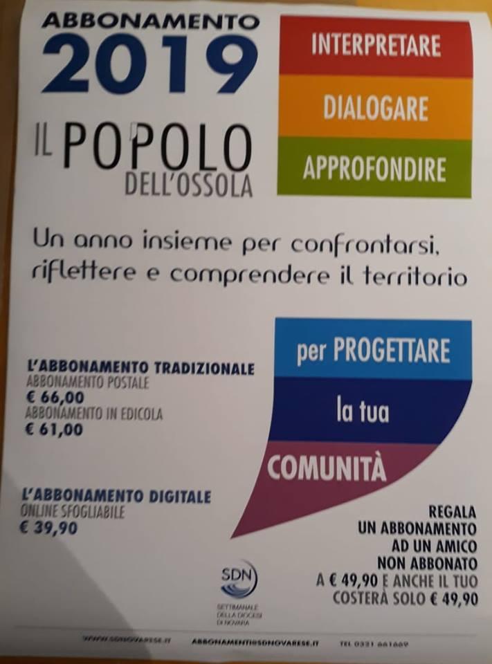 IL POPOLO DELL'OSSOLA