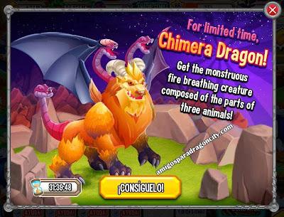 imagen de la oferta del chimera dragon