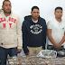 5 SUJETOS DETENIDOS CON DROGA EN #PARRAS