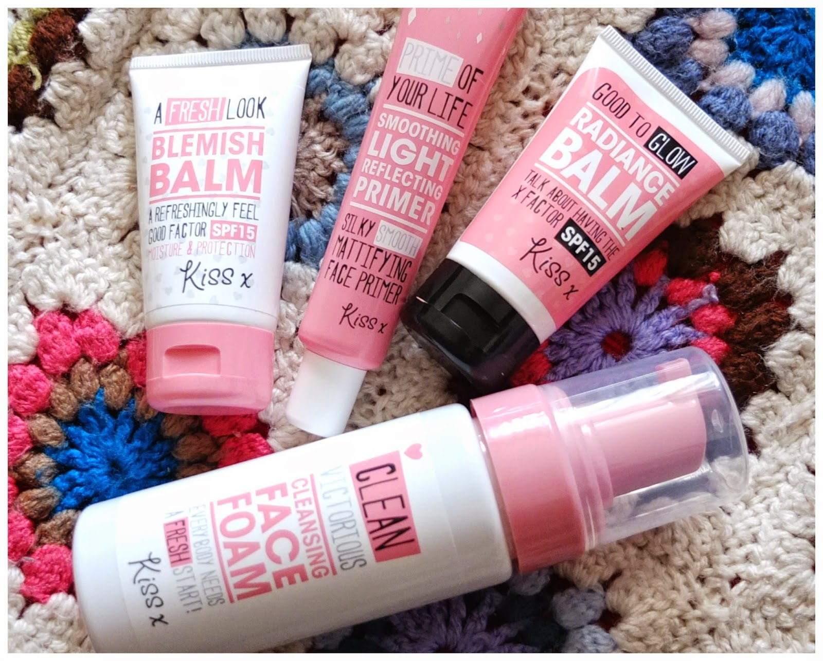 Budget Beauty Buys: Blog review of the Kiss range from Wilko stores including Primer, BB Cream and Radiance Balm.
