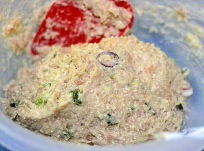 Fried Chicken Paste with Soya Bean - Chạo Gà Đậu Nành