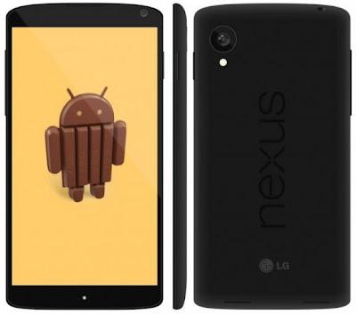 Fitur Dan Spesifikasi Handphone Nexus 5