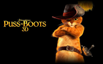 El gato con botas en 3D - Puss in boots (Wallpaper)