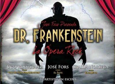 Dr Frankenstein, la ópera rock de Jose Fors