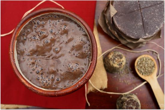 Champurrado {Atole de Chocolate} - All Roads Lead to the ...