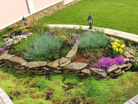 Piedras en el jard n y terraza ideas para decorar - Ideas para jardines de casa ...