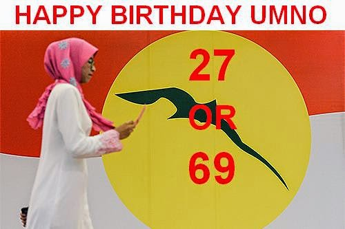 Video Happy Birthday UMNO Bangsa Umno Dan Yang Sewaktu Dengan Nya Di Larang Membaca