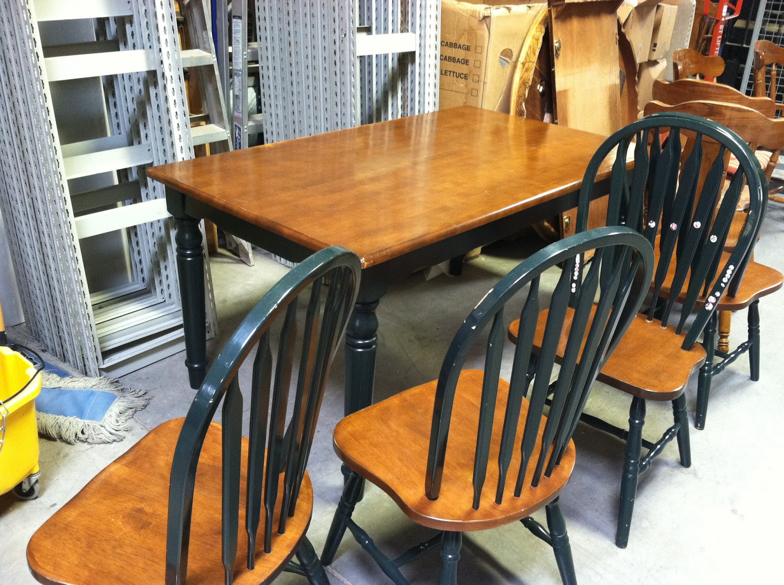 Parenting the pipsqueak our first refurbishing project for Table 6 kitchen canton ohio