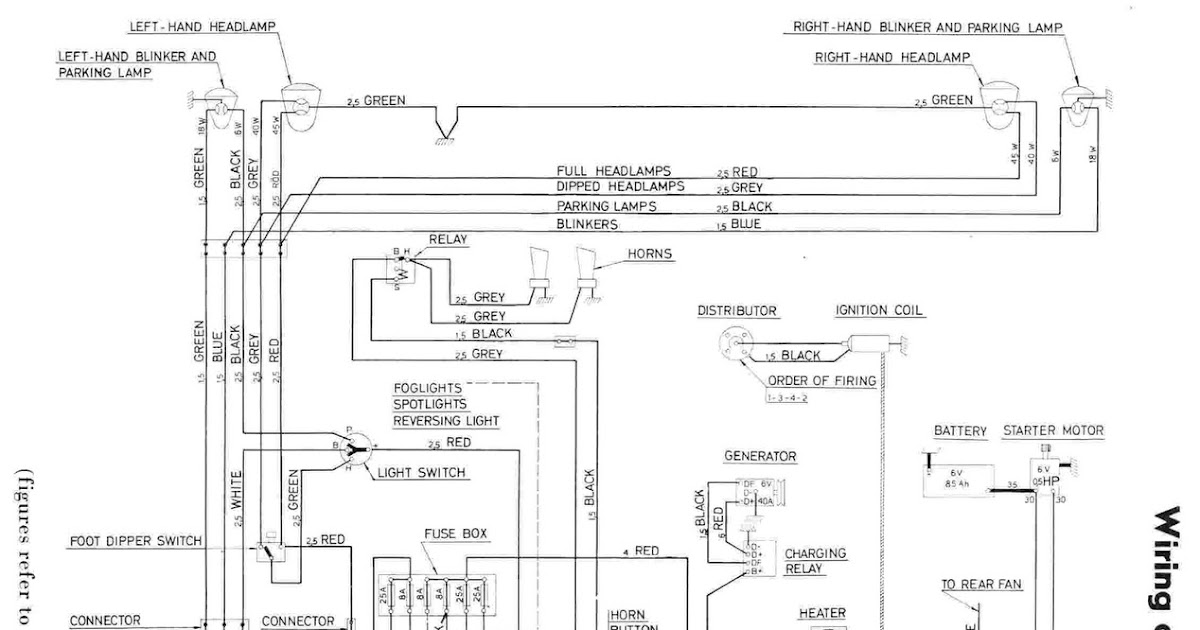 Wiring       Diagram    Of    Volvo    PV444   All about    Wiring       Diagrams