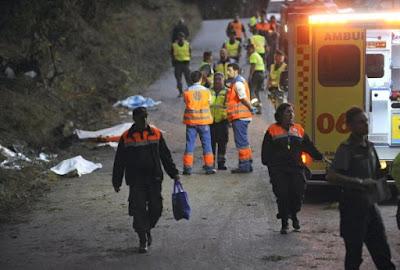 Ασύλληπτη η τραγωδία το απόγευμα του Σαββάτου στην Κορούνια της Ισπανίας σε αγώνα Ράλι