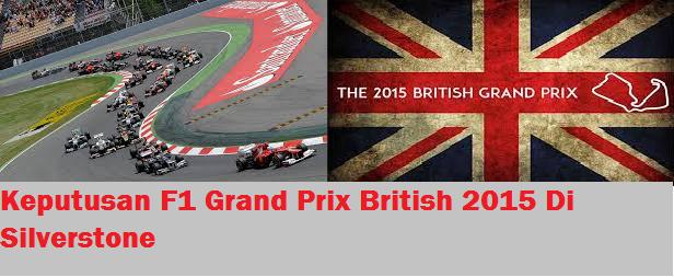 F1 Grand Prix British 2015 Silverstone