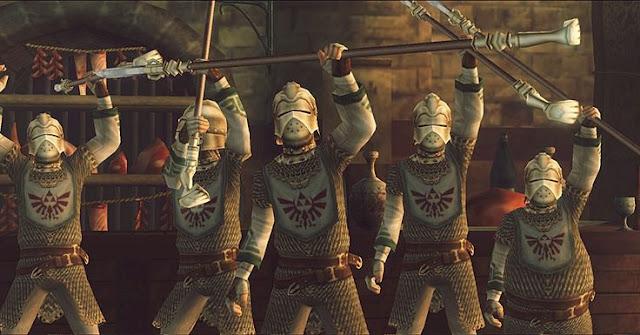 La Muerte en los videojuegos - Soldados de Hyrule