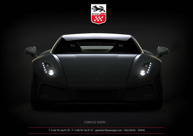 Spania GTA Spania Showcases New Supercar for 2013 Geneva Motor Show