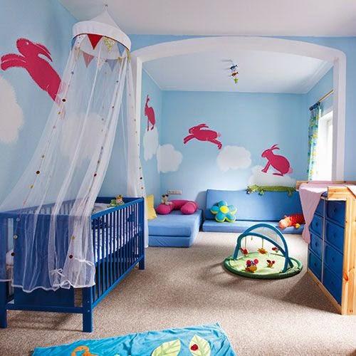 Fotos de lindos cuartos para beb s ideas para decorar dormitorios - Habitacion de nina bebe ...