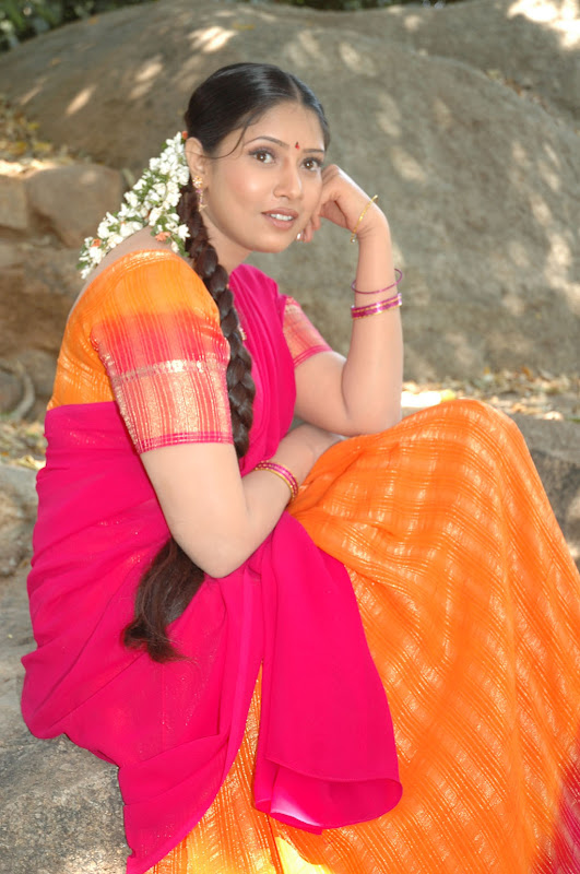 Tollywood Actress Sanghavi Half Saree Photos gallery pictures