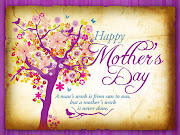 Happy Mother's Day. May your stitches be many and your worries be few.