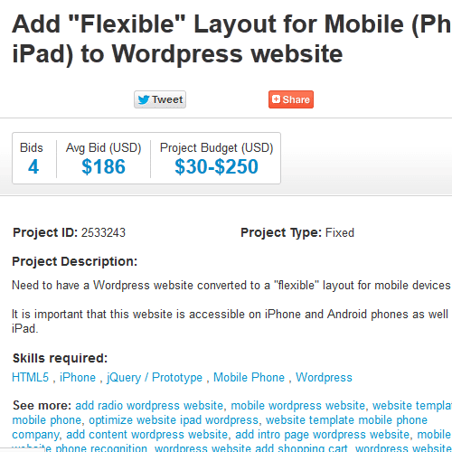 add flexible layout