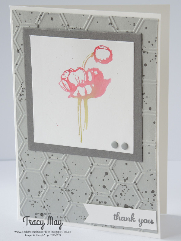 stampin up uk Simply sketched card independent demonstrator Tracy May card making ideas