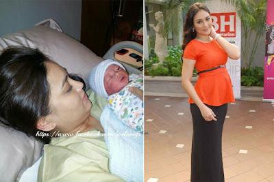 Anak Lelaki Pertama Fasha Sandha