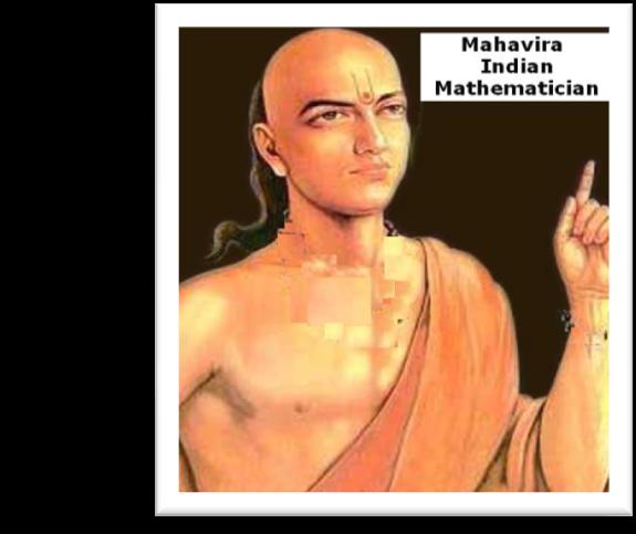 mahavira mathematician Gallery