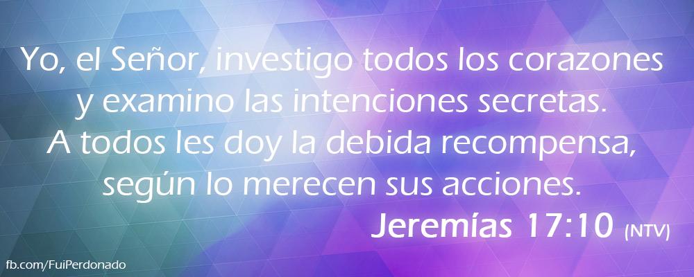 Jeremías 17:10