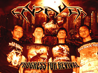Cadaver Band Death Metal Jakarta Indonesia Foto Personil Logo Cover Artwork Wallpaper