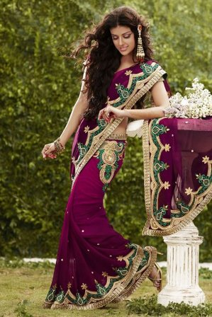 Bridal-Wear-Indian-Saree