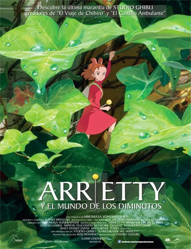 El Mundo Secreto De Arrietty (2010) [DVDRip] [Latino] [1 Link] [MEGA]