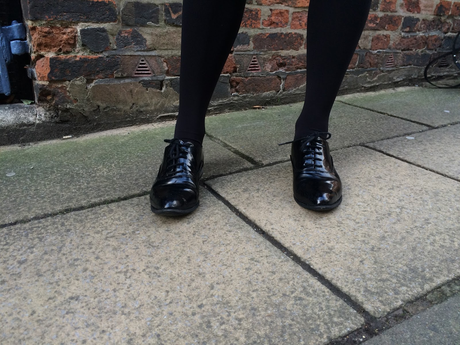 ootd,outfit post, fashion blogger, street style, look, topshop, asos truffle patent brogues