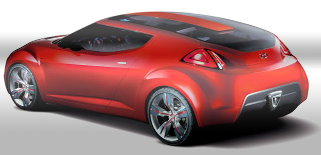 Traseira Hyundai Veloster