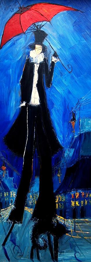 Justyna Kopania Flamenco Dancer Framed Oil Paintings