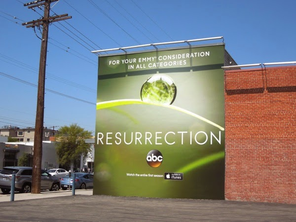 Resurrection Emmy 2014 billboard
