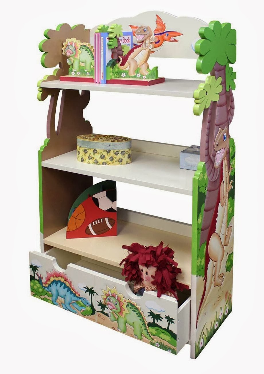 Teamson Dinosaur Bookcase