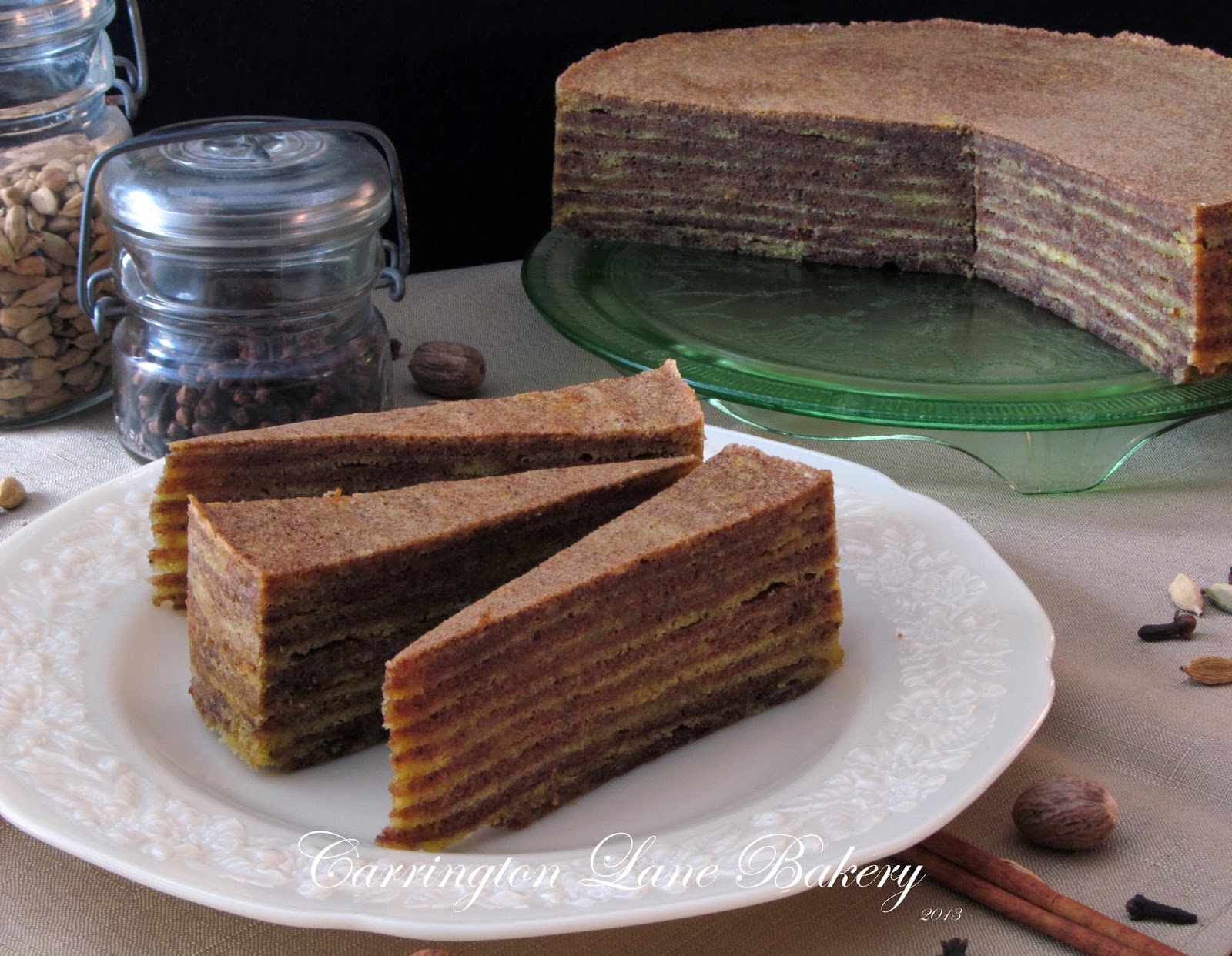 Spekkoek Cake Recipe