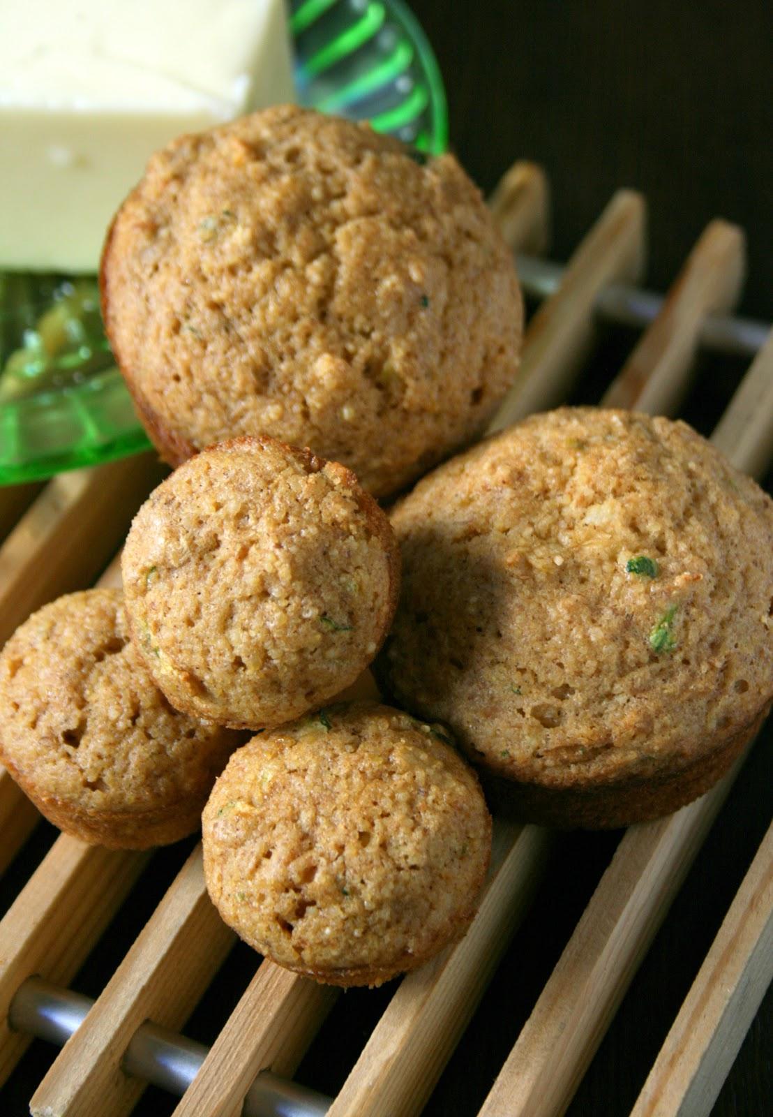 Nourished Human: Mini Zucchini Millet Muffins - Gluten Free