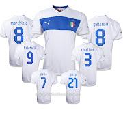 Camisetas Futbol BaratasCamiseta Italia 2 Equipacion 201213