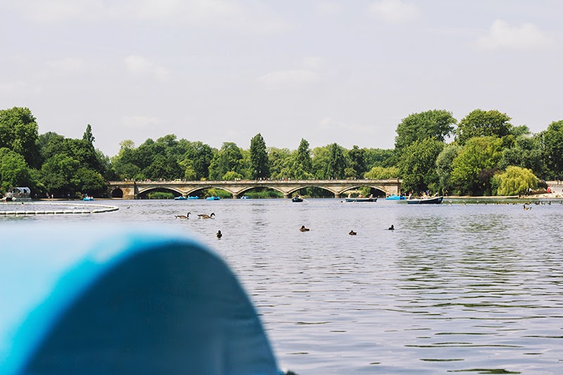hyde park boating lake