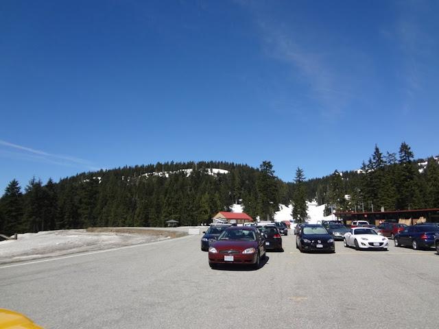 mt. seymour ski resort parking lot
