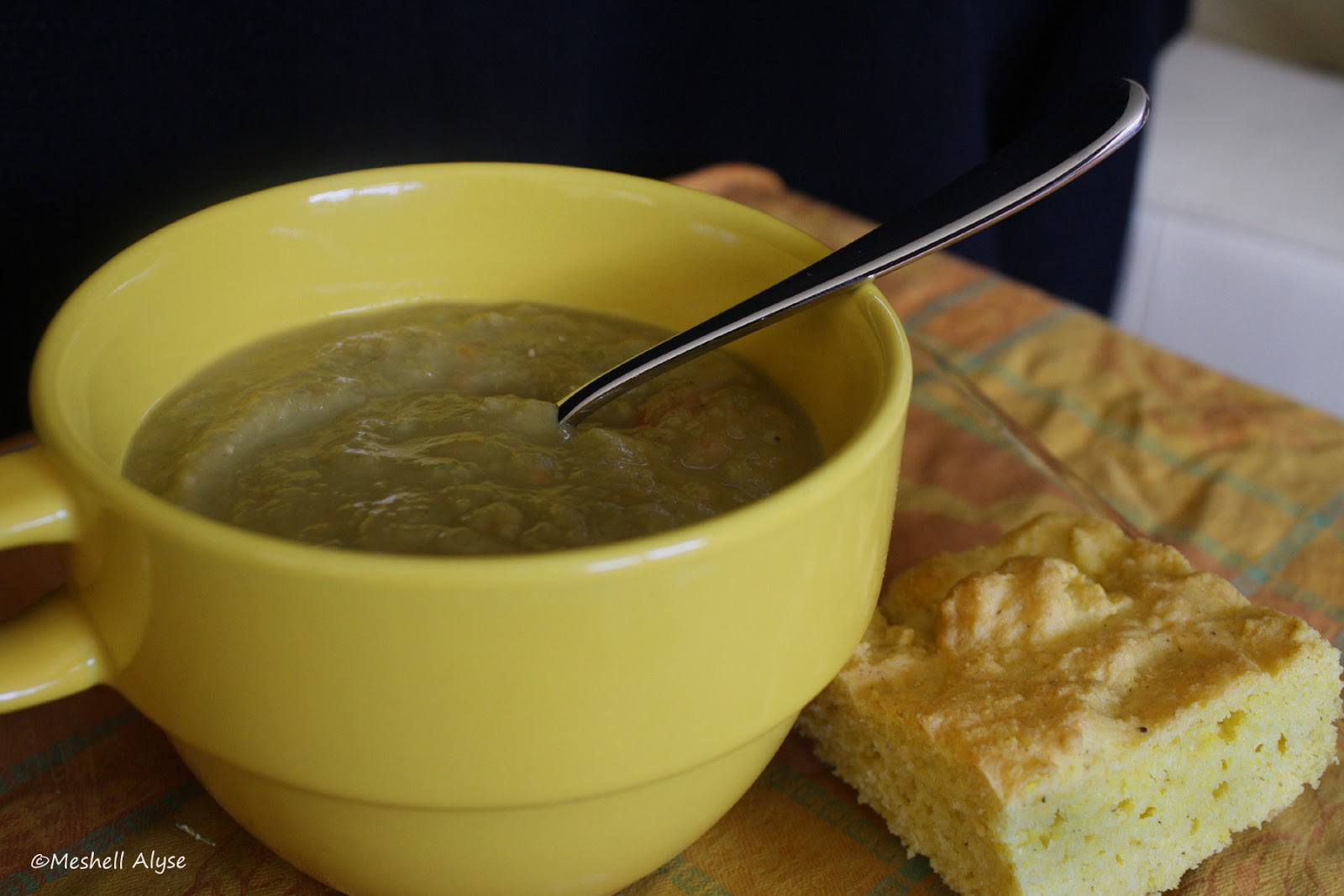 Adaptive Cooking: Green Pea Soup with Ginger - Vegan
