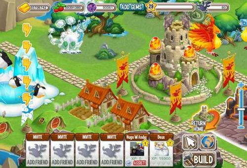 Juegar Dragon City en Facebook - www.dominioblogger.com