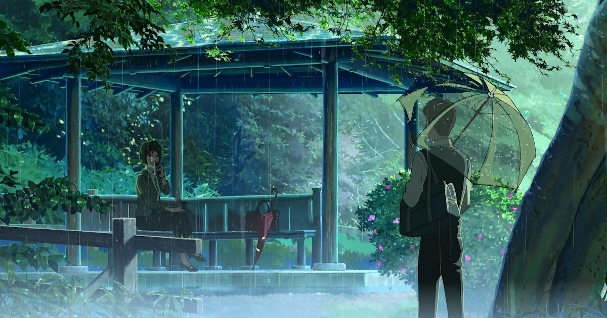 Kotonoha no niwa el jard n de las palabras animexpert for El jardin de las letras
