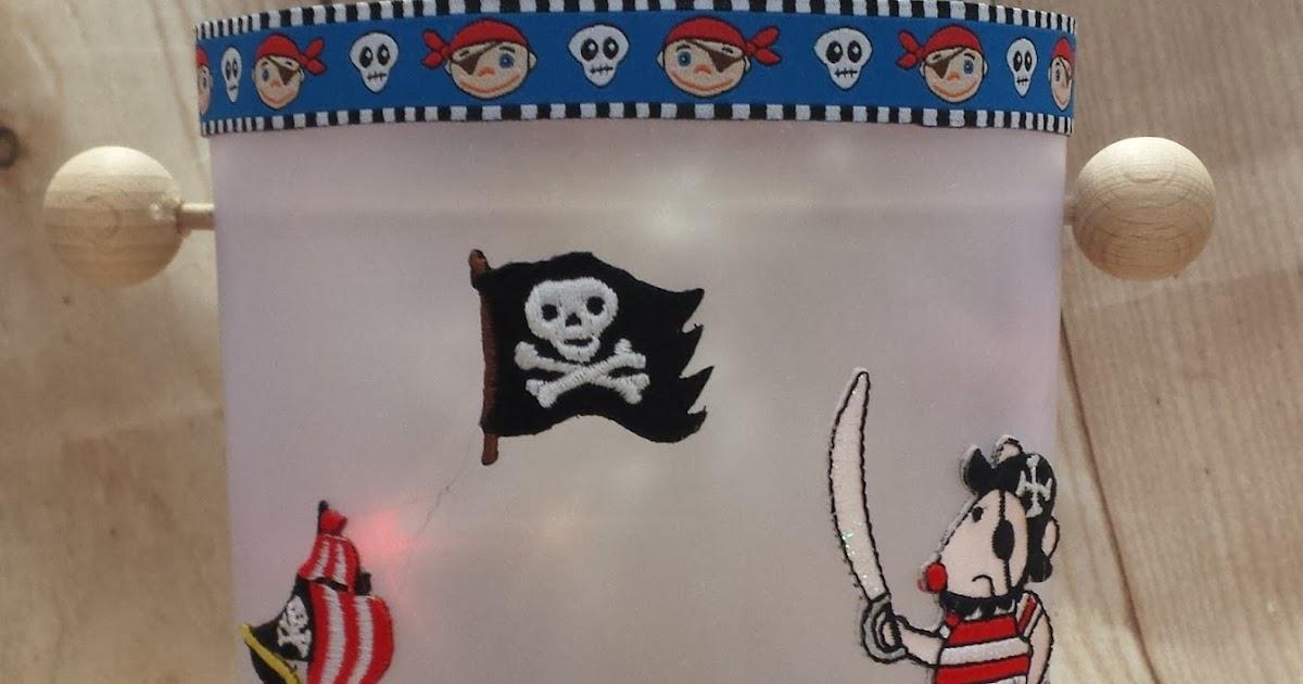 hobby kreativ welt piraten laterne. Black Bedroom Furniture Sets. Home Design Ideas