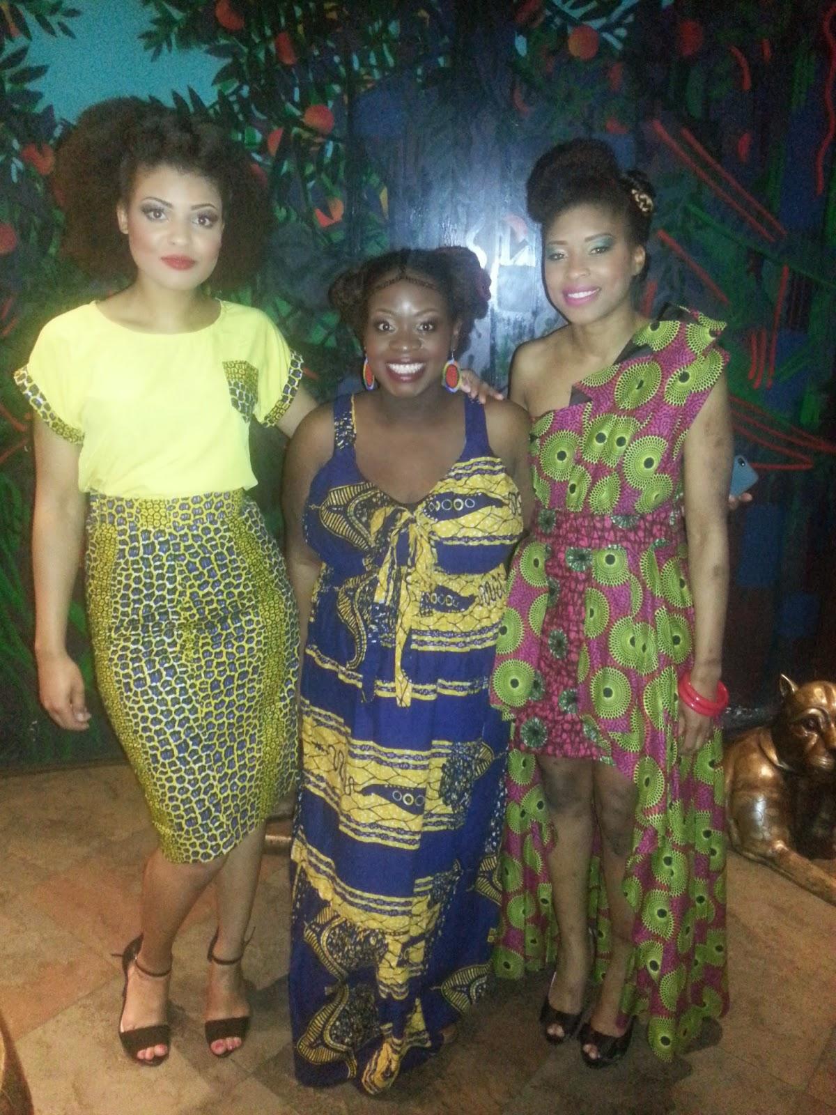 AfroDeity at Curly Hair Magazine Photoshoot