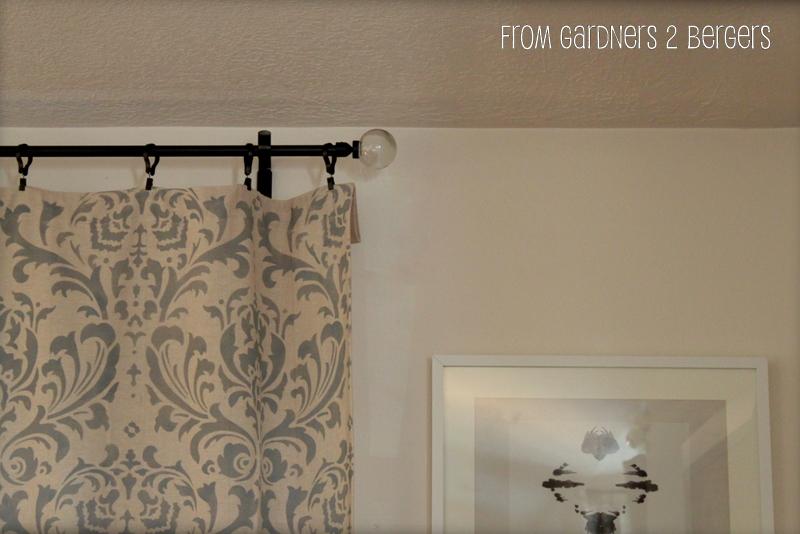 Gardners 2 Bergers DIY Curtain Rods Sliding Glass Door Bay Window