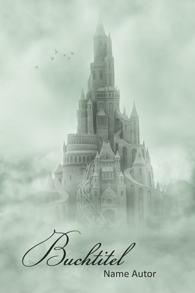 Premade-Buchcover Schloss, Fantasy