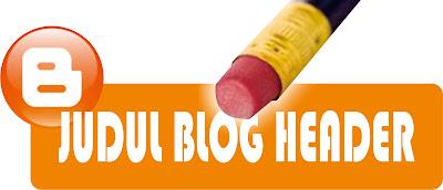 Menambahkan link pada judul blog diatas header