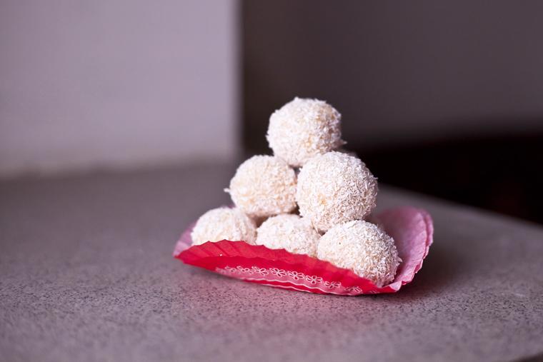 бонбони с кокос